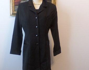 Vintage Riding Jacket Suit Dress Coatdress