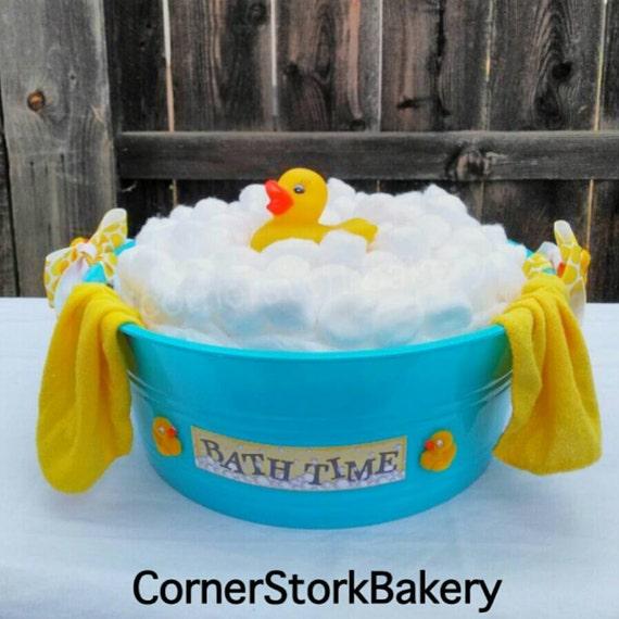 Ducky Bath Time Diaper Cake
