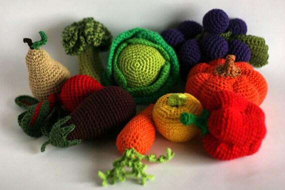 Articles Similaires à Grand Crochet Légumes Et Fruits 1 Pcs Ou