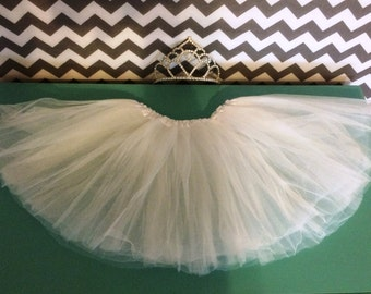 White Ballet Tutu / Dance Skirt