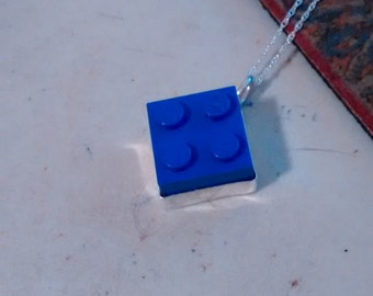 Play Brick Sterling Silver Pendant