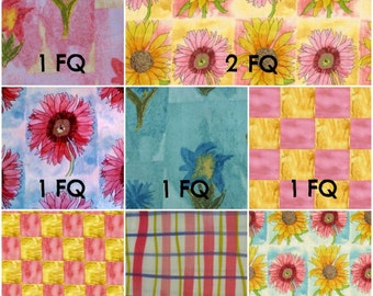 Every Living Thing by Mary Fisher - 10pc Cotton Woven Fabric Bundle