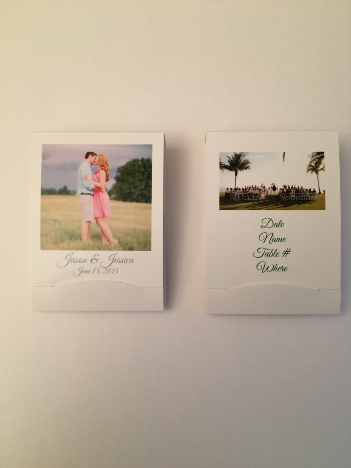 Teecil Custom Wedding Matchbooks Golf Tee And Pencil In One