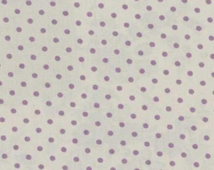 Mas d'Ousvan - Dot Grey Purple - 1/2yd
