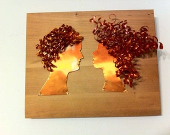 Copper Silhouettes Style 4