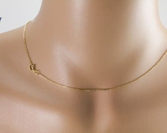 Gold Filled 1.2mm Flat Cable Chain 1132F / Chain Necklace / Delicate / Minimal / Simple / Dainty / Strong / Everyday / Layering / GFCN008
