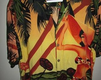 Vintage Hawaian Shirt by thumbs up