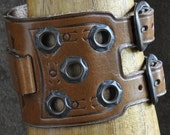 Leather Cuff Bracelet Vintage Arm Band Wristband Watchband Unisex Boho Accessory Ready