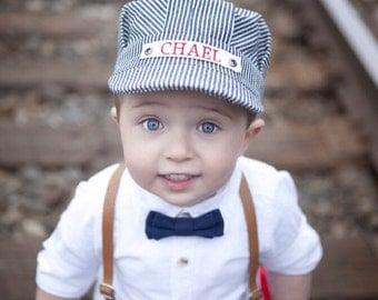 Train Birthday, Toddler Hat, Toddler Boy Hat, First Birthday Hat, Second Birthday Day, Birthday Hat, Birthday Boy Hat, Birthday Boy Gift
