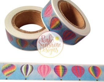 Hot Air Balloon Ride Washi Tape 15mm