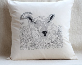 Sheep - Ewe - Cushion Cover