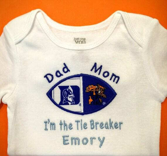 University Kentucky and Duke University House Divided Baby