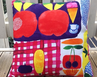 Marimekko throw pillow  cushion cover decorative pillow 18  inch