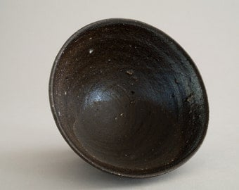 Wood Fired Pottery Bowl -00102-
