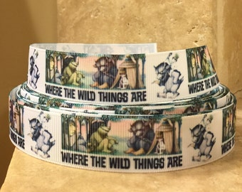 5 YDS Where The Wild Things Are Ribbon