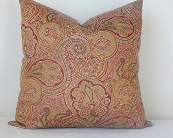 Designer pillow cover,throw pillow,accent pillow,decorative pillow, same fabric on both sides