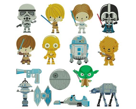 Similiar Star Wars Embroidery Keywords
