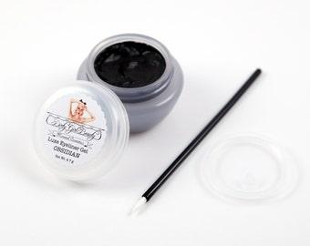 Luxe Eyeliner Gel--OBSIDIAN Black--VEGAN