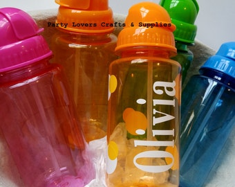 Water Bottle Personalized Gift, Personalized Water Bottle, Kids Water Bottle Party Favor, BPA Free, Birthday Party favor, sports bottle