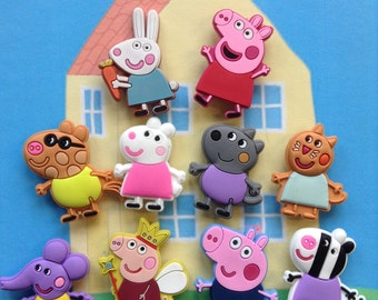 Peppa Pig Mini Magnets**Fun Gift Idea**