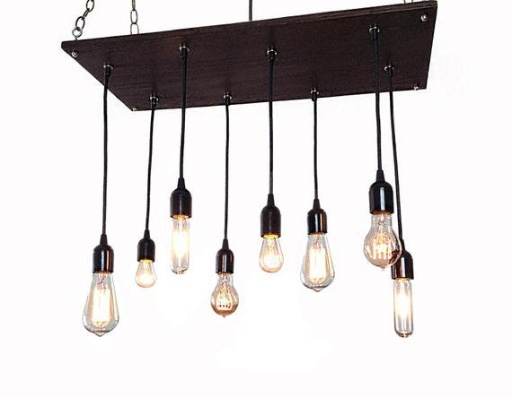 Edison Bulb Industrial Chandelier Modern By