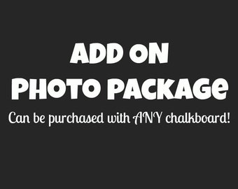 ADD ON: Photo Package / Add a photo to a listing