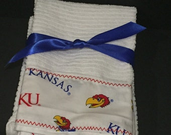Kansas Jayhawks Hand Towels