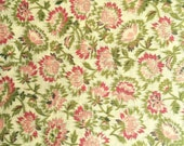 Cotton floral yardage, vintage-inspired, ditsy print, crafting, quilting cotton fabric, fabric by the yard, floral fabrics