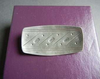 Vintage pewter Jorgen Jensen brooch, jorgen jensen pewter pin, jensen pewter, jensen pewter brooch, jorgen jensen, jensen pewter pin