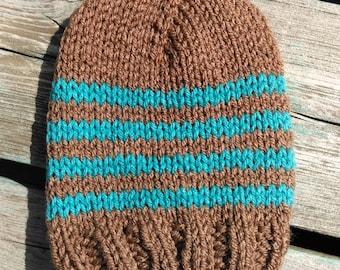 Knit Striped Hat