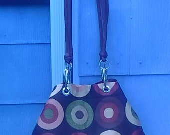 Fabric Carpetbag Mini Tote