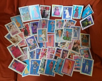 """Barbie Trading Cards 90""""-91"""""""