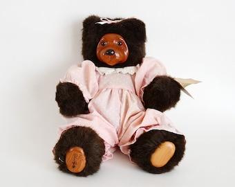 Robert Raikes Bear - Cookie Black Bear #660330 - PLAYTIME COOKIE