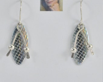 Alluring Sterling Silver Earrings CSS156E