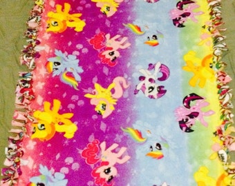 My Little Pony Print Fleece Blanket