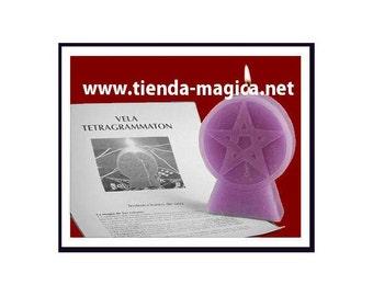 Vela Pentagrama/ Candle Pentagram