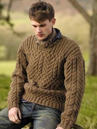 MADE TO ORDER men's crewneck Sweater turtleneck men hand
