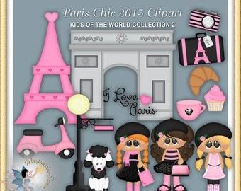Paris Clipart, Vacation, Travel, Paris Chic 2015