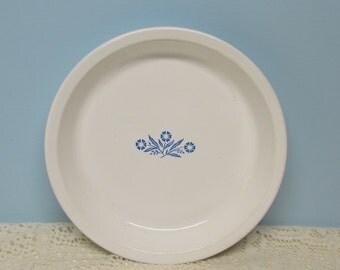Corning Ware Cornflower Pie Plate ~ 9 inch ~ Cottage Décor ~ Cornflower Collector