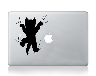 Macbook Decal Cat Sticker Decal Case Skin Cover Art Transfer Decoration