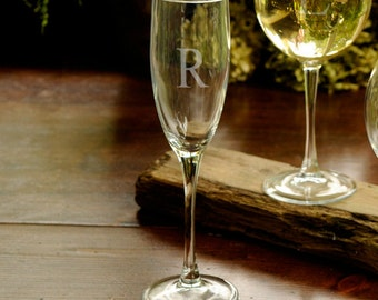 1 Personalized Toasting Glass