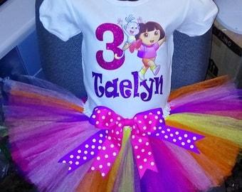 Dora the Explorer Birthday Outfit