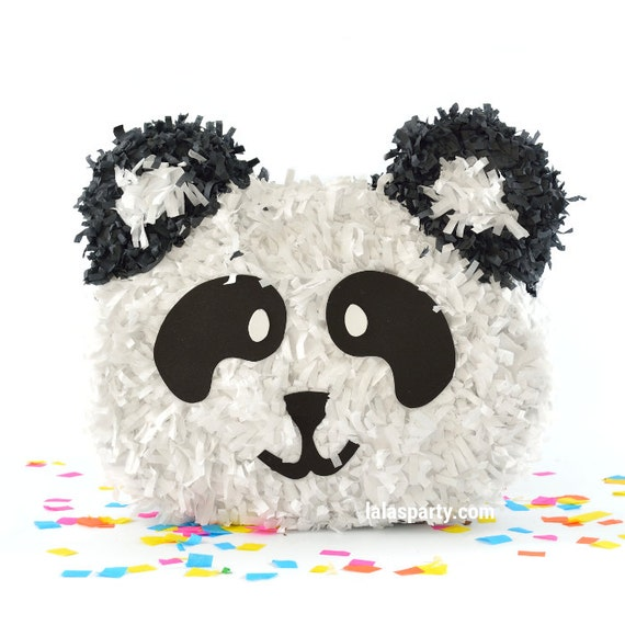 items similar to panda pinata panda birthday party game and decoration pn1054 on etsy. Black Bedroom Furniture Sets. Home Design Ideas
