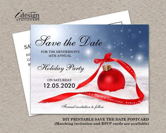 Invite girl dating to holiday party