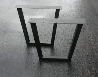 Tapered Table Legs steel furniture legs 253035417190 cm