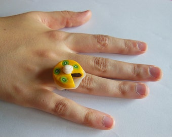 Kiwi cake ring