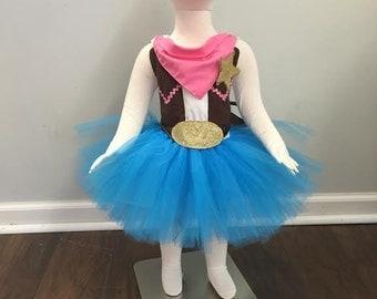 Sheriff Callie Costume Tutu Halloween Birthday -Girls - Dress -
