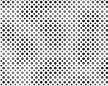 Ombre Dots Black (23413-J) Quilting Treasures - Fabric Fat Quarter