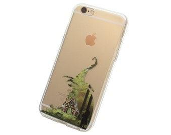 iPhone 6, 6Plus Hansel and Gretel Case - Your choice of Soft Plastic (TPU) or Wood