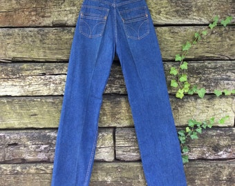 Vintage 1970s Levi's High-Waisted Jeans {x-small}